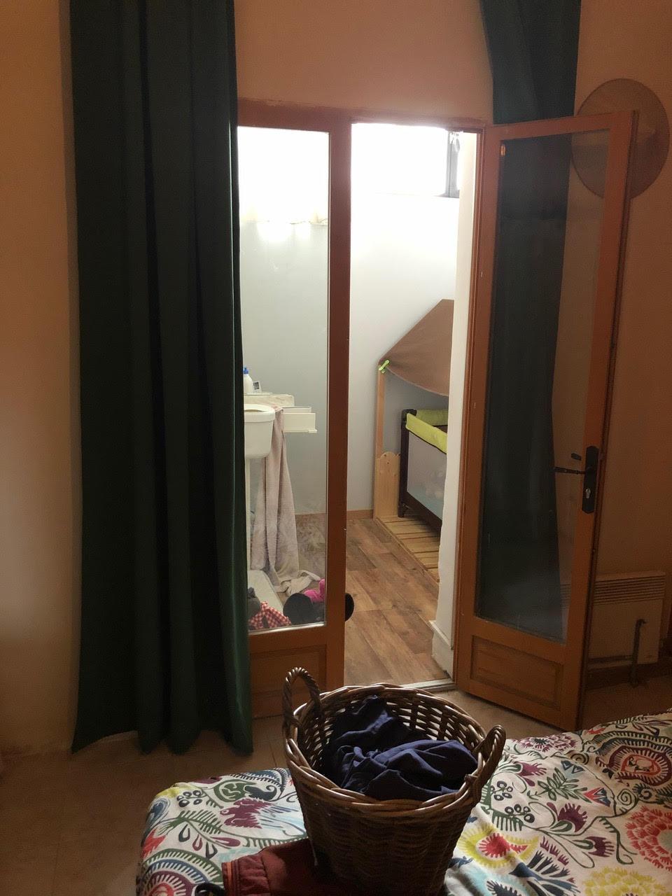 Aménagement intérieur et décoration d'une maison des années 50  - Arles - chambre