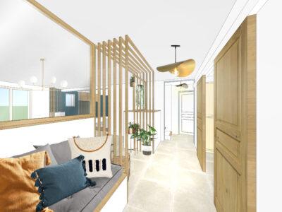 Aménagement intérieur et décoration – Transformation d'une maison – Manduel