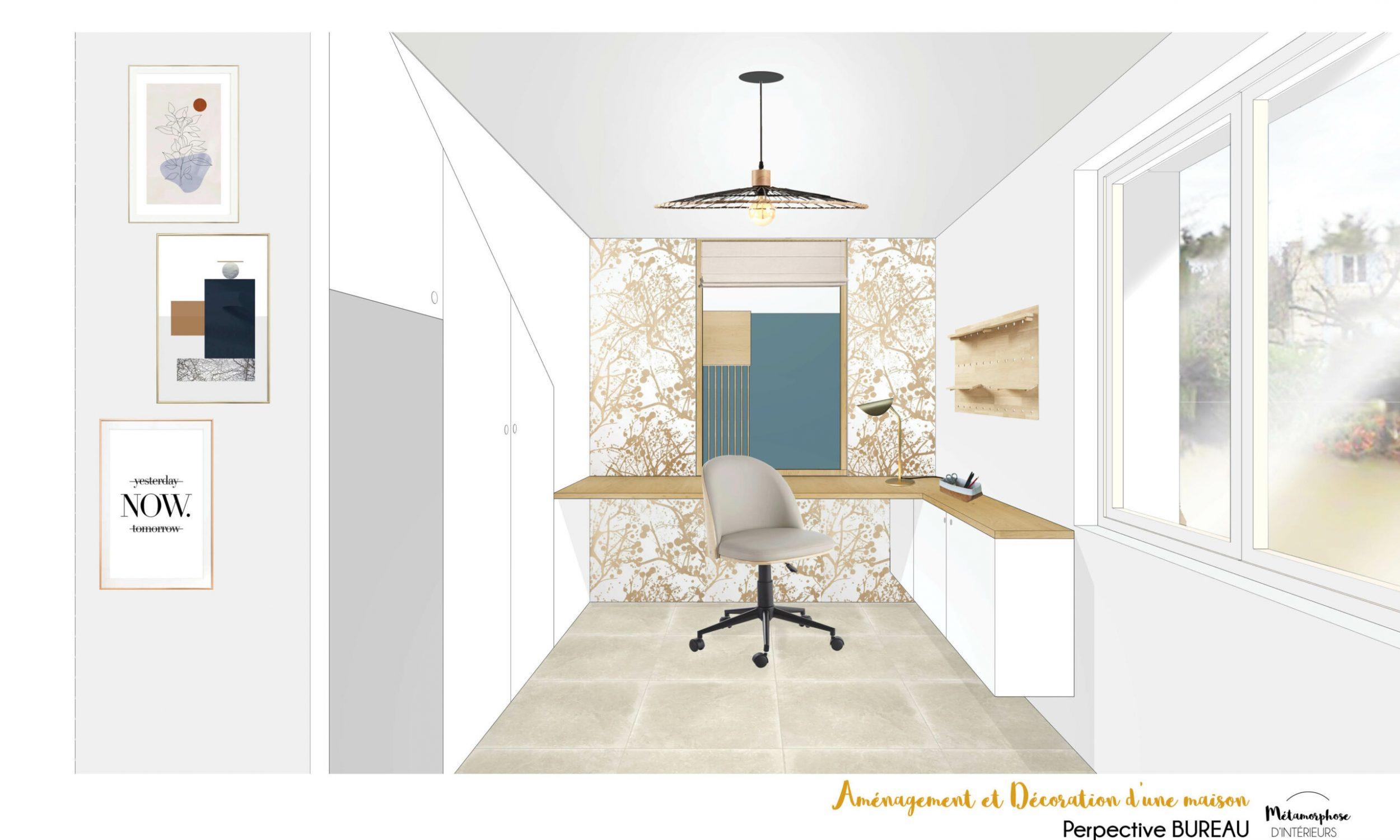 MAISON MANDUEL -Aménagement intérieur et décoration - bureau
